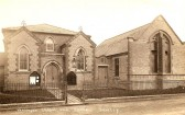 The Chapel Green End Road Sawtry. With the new Sunday School to the right.. Condensed History of Sawtry Methodist Church