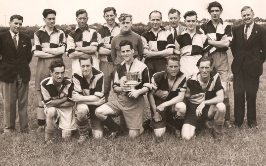 Sawtry Sports Club, Winners Hunts League Div. 2 1948-1949.