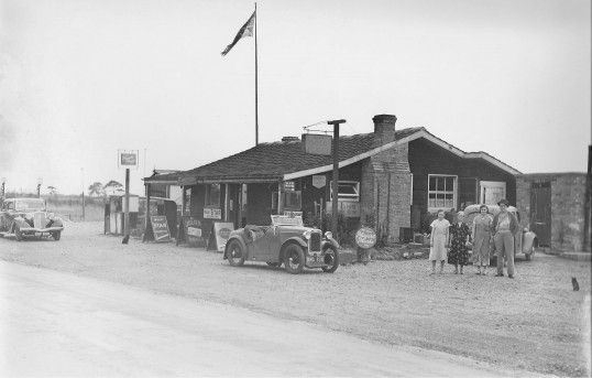Bennets Garage on the old A1 Sawtry.
