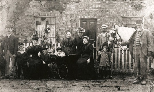 The Bannister Family, The Mill Sawtry. (From Kym Bannisters Collection)