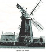 Bannisters Mill Sawtry. (From Kym Bannisters Collection)