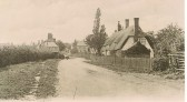 Church Street Sawtry. (View towards High Street.)