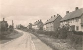 Green End Road School Hill Sawtry ( Note the council houses on the right)