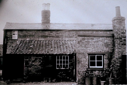 Rear view of the Oddfellows Arms  Sawtry.