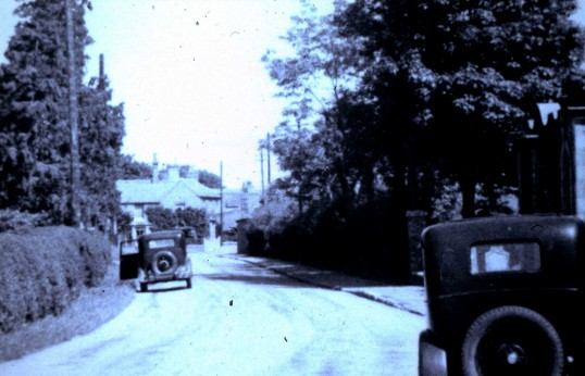 Transport of the day, Green End Road Sawtry. (Looking towards the High Road.)