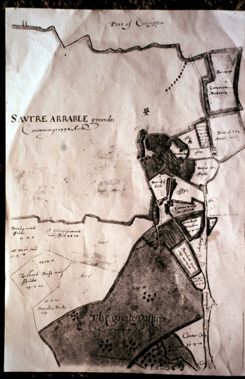 Old Map of Sawtry.