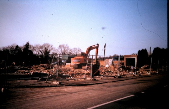 Royal Oak Public House Sawtry. (Demolition compleated the end.)