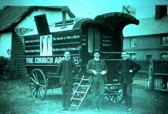 The Church Army in Sawtry (Looking for the sinners no doubt.)