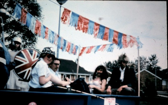 The Queen's Silver Jubilee celibrations in Sawtry.