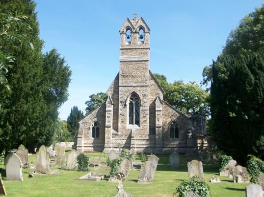 St. Giles Church Holme. (End view)