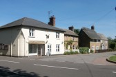 Old Village Post Office and ajoining cottages Holme. The Post Office has now closed and is a village store only.