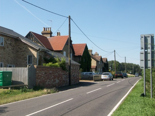 Railway Cottages Yaxley Road Holme. (Opposite where the Station once stood.)