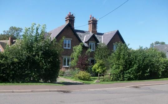 Cottages in Holme Village.