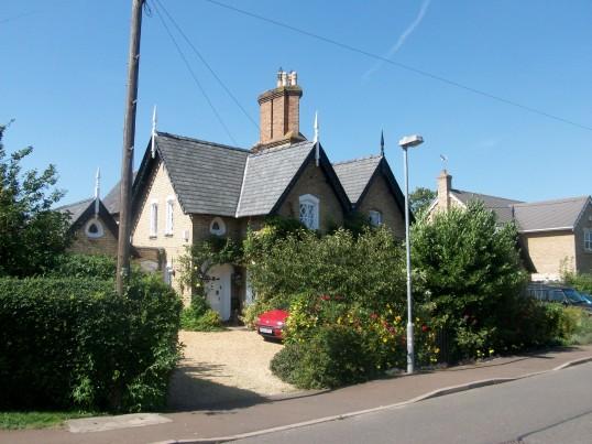 Cottage in Holme Village. (Note unusual chimney stack.)
