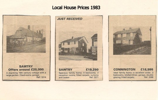 House prices in Sawtry & Conington