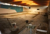 Buiding of the Old Swimming Pool at Sawtry College.