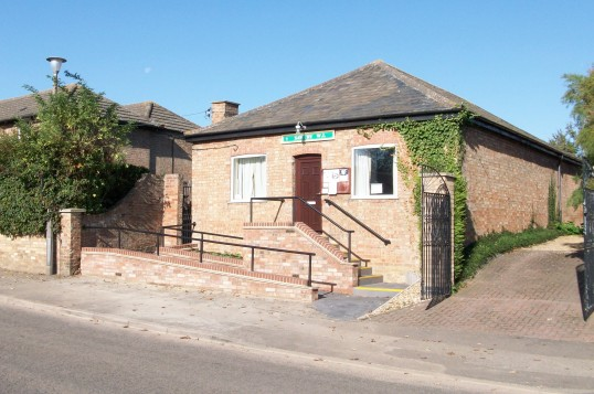 Sawtry WI building with new frontage. (WI celebrating 90 years this year 2009.)