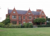 Holmewood Hall in the village of Holme.(Rear view)