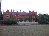 Holmewood Hall in the village of Holme.(Side view.)