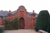 Holmewood Hall in the village of Holme.(Doorway from the Garden)
