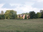 Holmewood Hall in the village of Holme.(View taken from site H.)