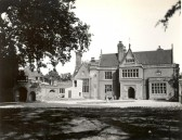 Holmewood Hall in the village of Holme. (Front view)