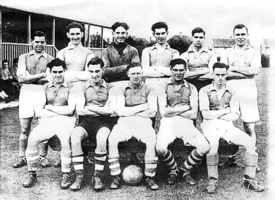 Holme Rovers Football Team 1948 / 49 season.