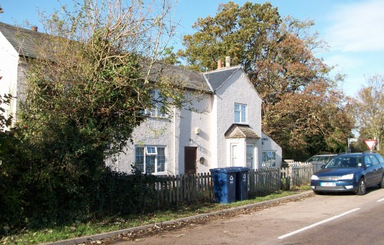 Pingle Bank Cottage in Holme Village. (Once the Railway Arms Public House)
