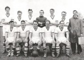 Sawtry Football Club,winners Hunts Div. 2 1957/1958.