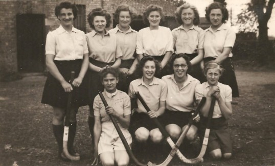 Holme Ladies Hockey Club. Members from Holme, Conington and Sawtry.