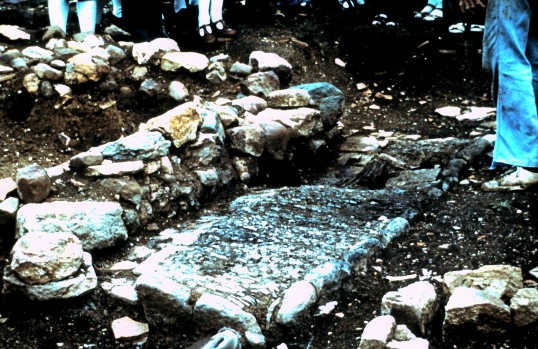 St. Judith's Archeological Dig Sawtry.(Oven)