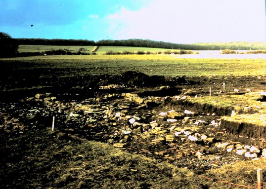 St. Judith's Archeological Dig Sawtry.(Part of Dig.)
