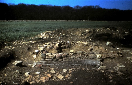 St. Judith's Archeological Dig Sawtry.(Oven.)