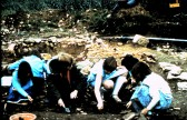 St. Judith's Archeological Dig Sawtry.(Junior School visiting the Dig.)