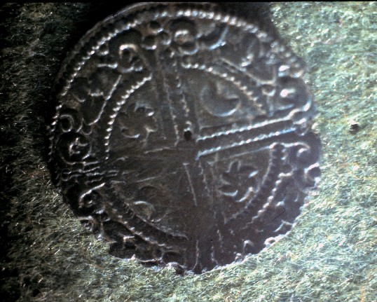 St. Judith's Archeological Dig Sawtry.(Coin found on site.)