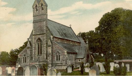 St Giles Church Holme Village.