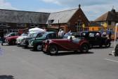 Sawtry Carnival, classic cars.