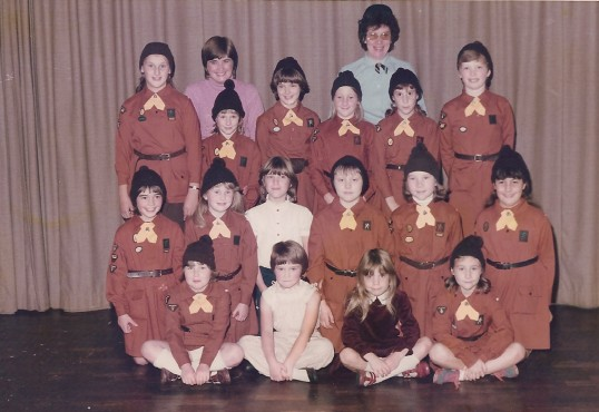 4th Sawtry Brownies Pack.
