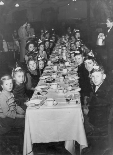 Christmas Party at Conington.