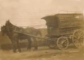 Frank Woodbridge carrier of Sawtry. Wed & Sat each week to Peterborough.