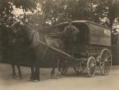 Frank Woodbridge carrier of Sawtry. Wed & Sat each weekto Peterborough.
