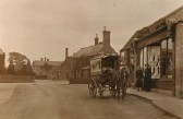Sawtry High Street. Outside Millers Shop.