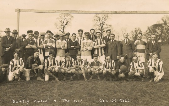 'Sawtry United' v 'The Hut' at Sawtry.