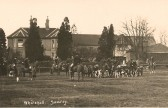 The Fitzwilliam Hunt, outside Whitehall Sawtry.