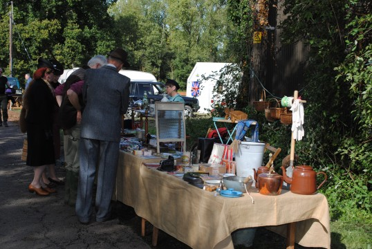 1940s Weekend in Holme Village. A look back in time.