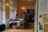 1940s Weekend in Holme Village. Inside Holmewood Hall.