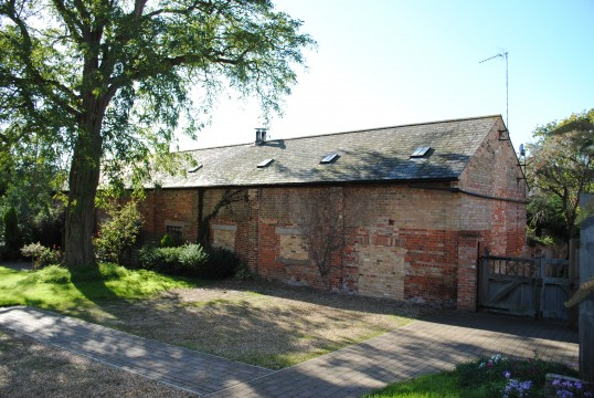 Glatton Village, this building was used to house German prisoners of war between 1914- 1918.