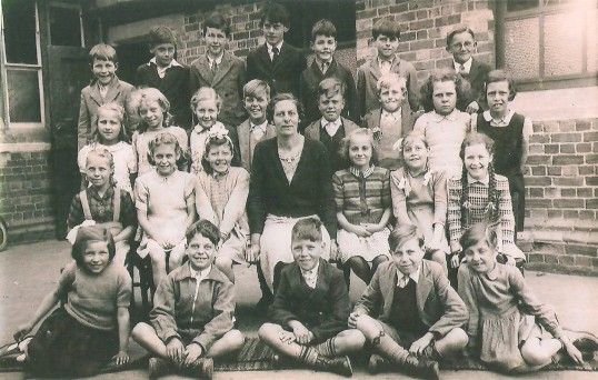 Mrs Newell's Class at Council School Sawtry 1949.
