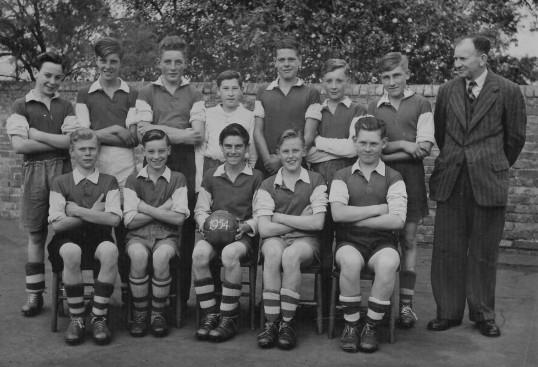 Sawtry School Football Team.
