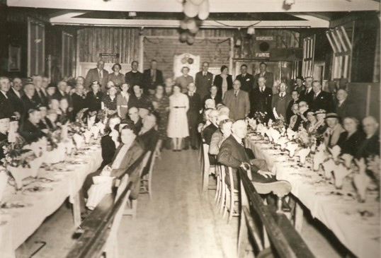 Celibration in the Ex-Servicemens Club Sawtry.